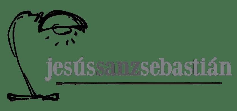 Jesús Sanz Sebastián website & logo 1