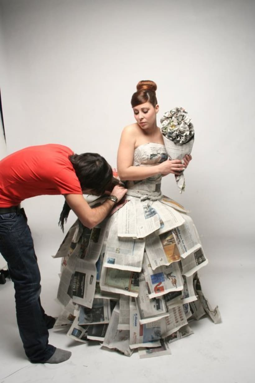 """Paper Bride"" Photography 8"