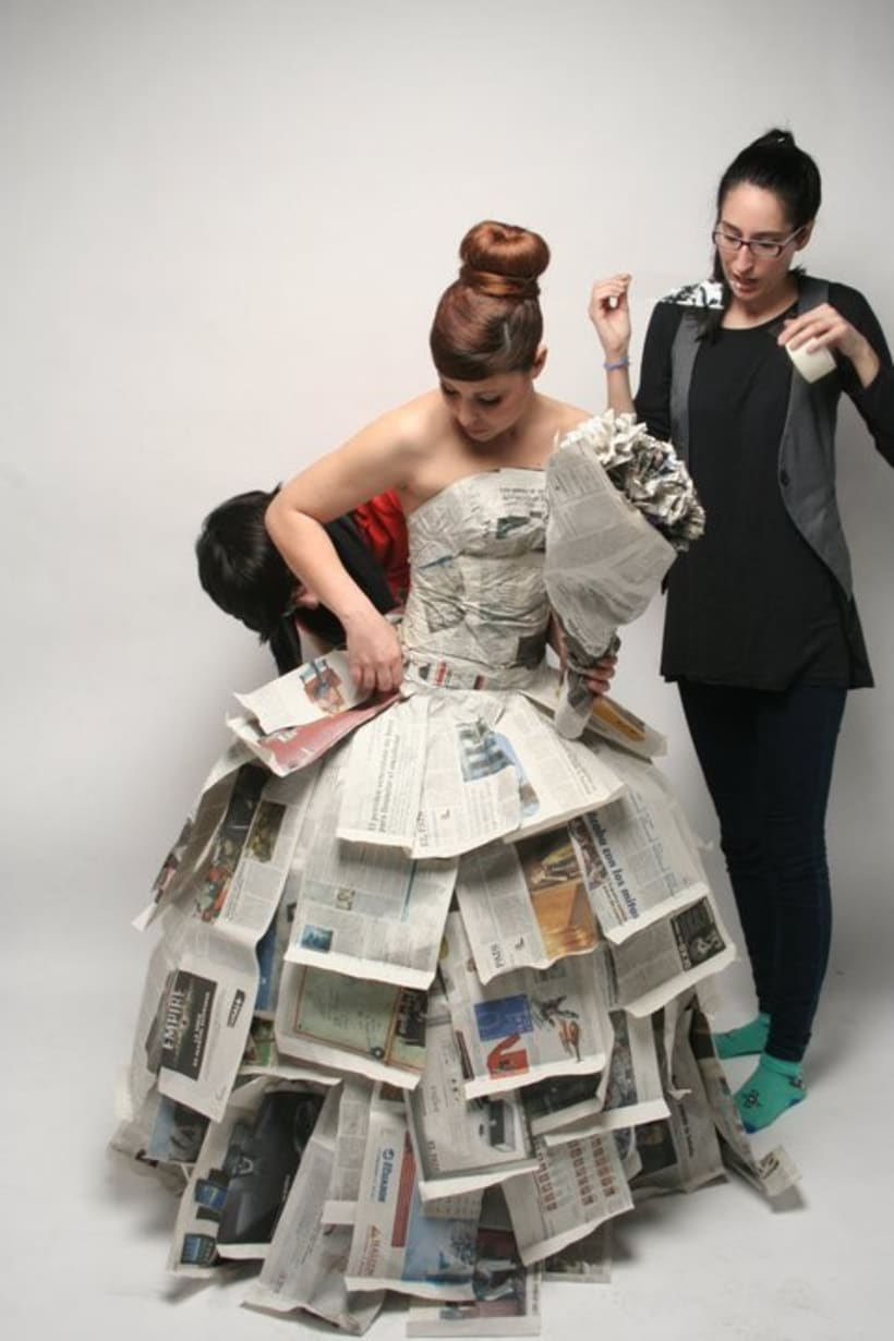 """Paper Bride"" Photography 9"