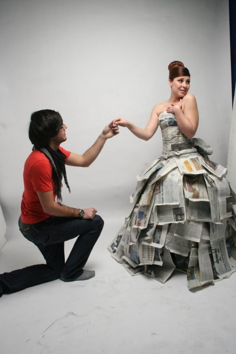 """Paper Bride"" Photography 10"