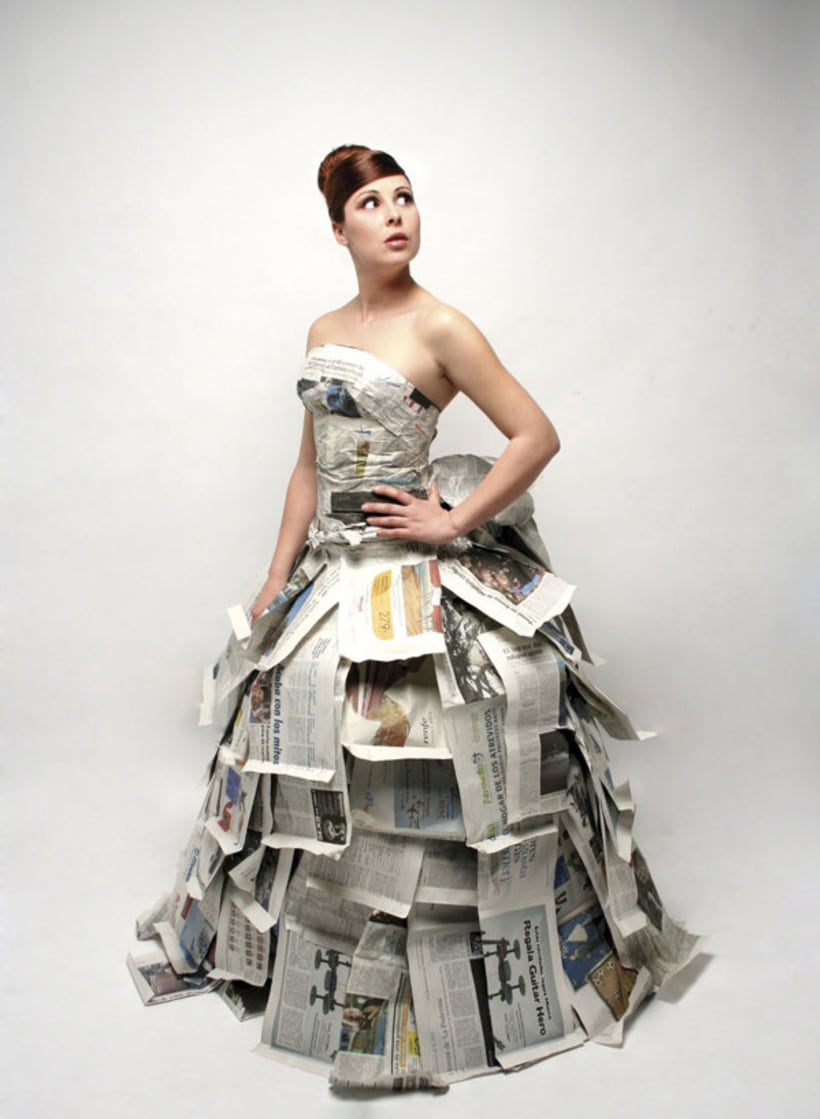 """Paper Bride"" Photography 3"