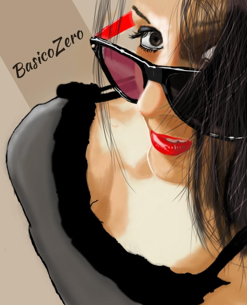 Ilustración de mi hermana Alba 3