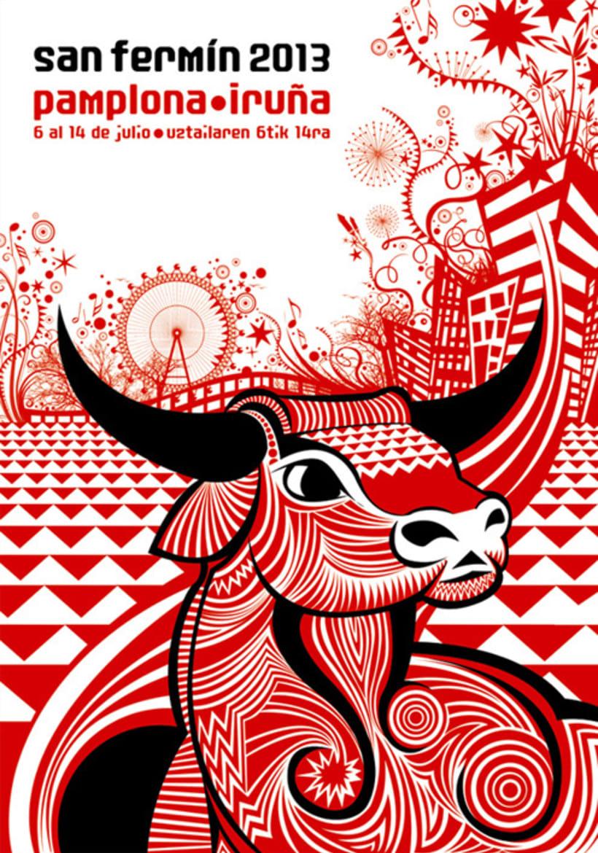 cartel San Fermín 2013 1