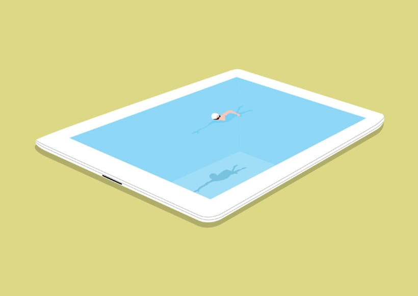 SwimmingPad 1
