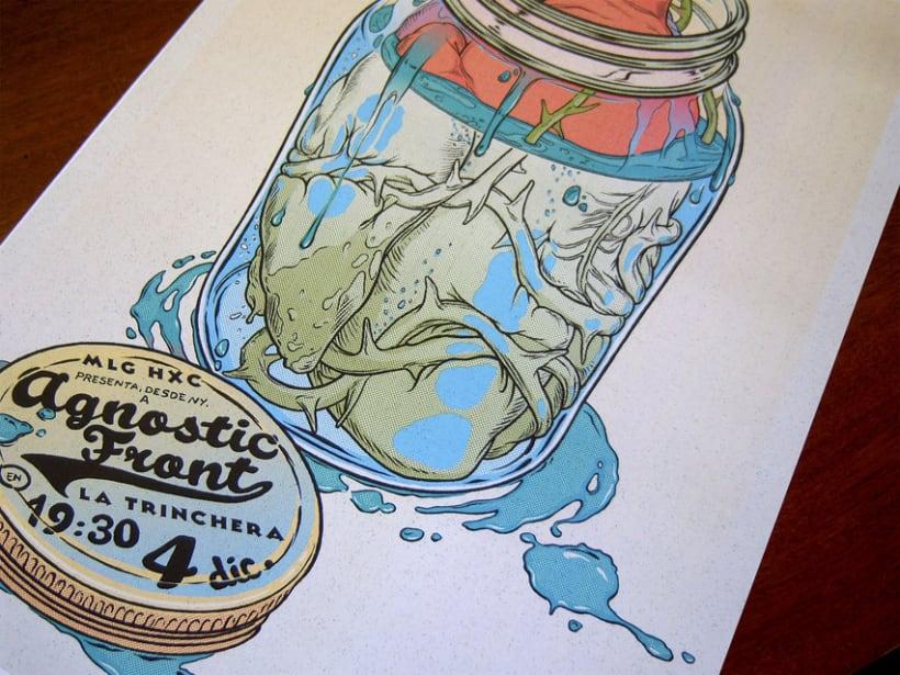 Agnostic Front Poster 6