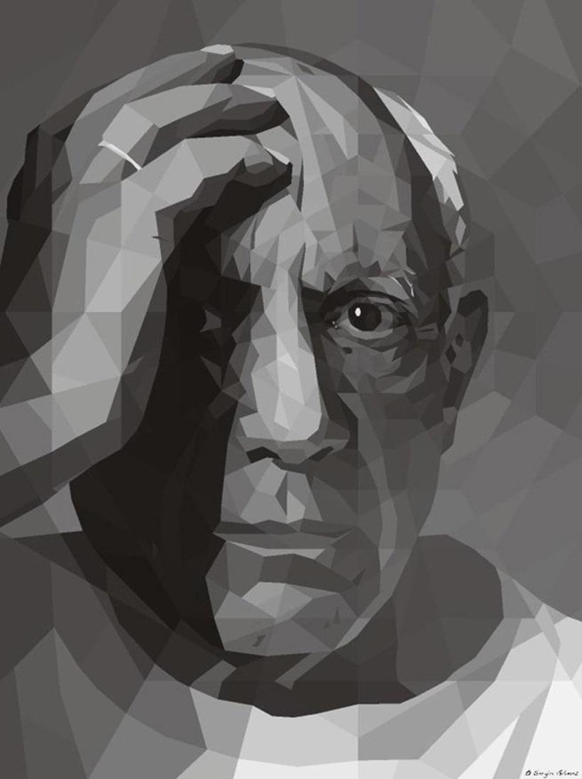 Geometric Picasso, la mirada de un genio, 1954. 1