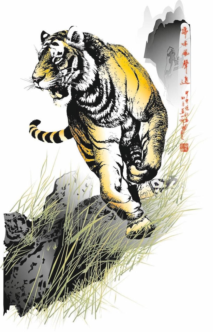 Tiger vector  1