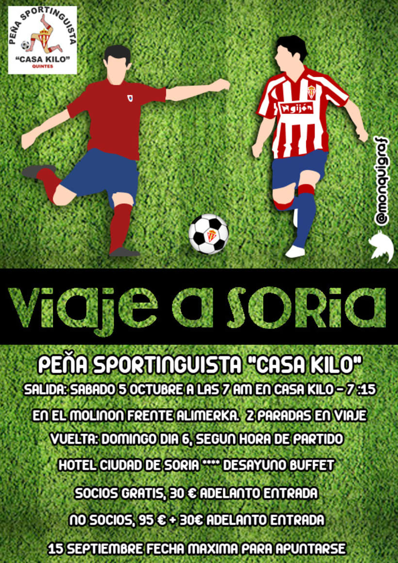 Cartel Peña Sportinguista 1