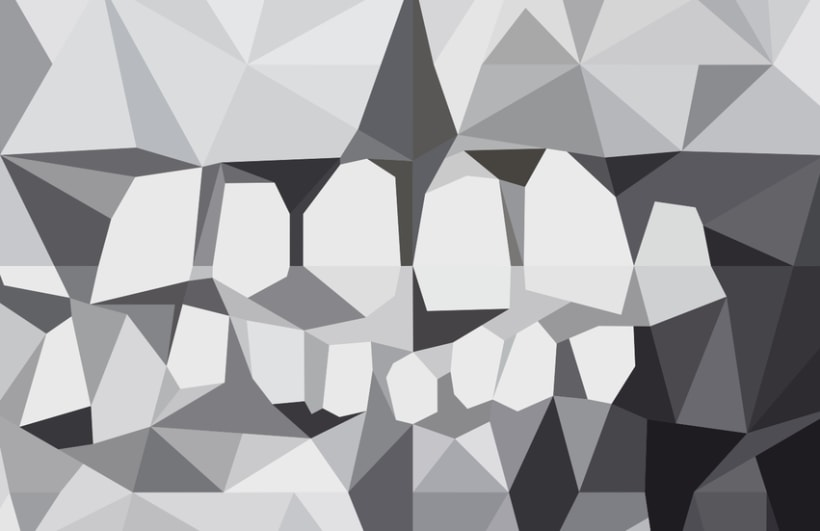 Geometric Skull. 6