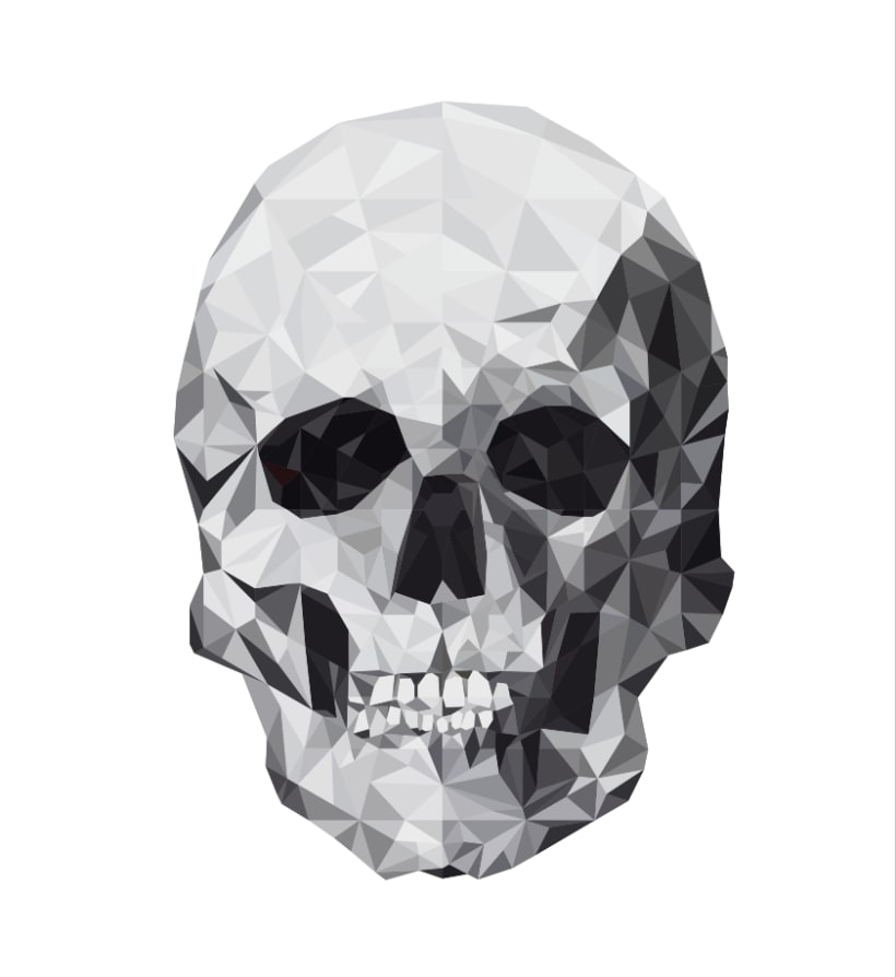 Geometric Skull. 1