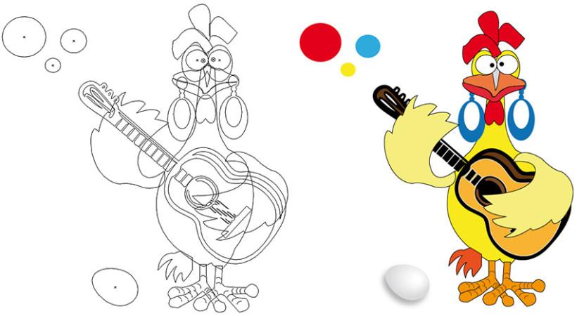 Ilustraciones para libros de Música 1