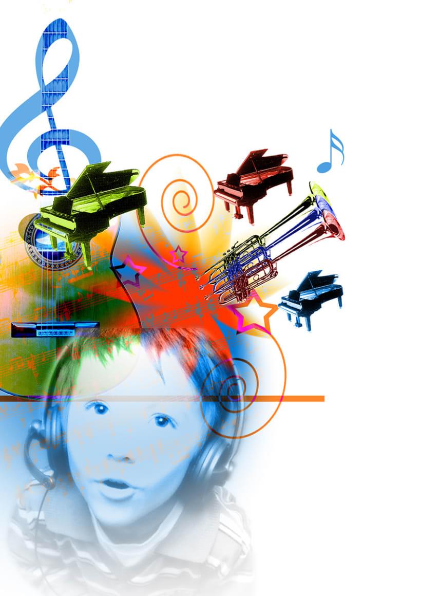 Ilustraciones para libros de Música 3