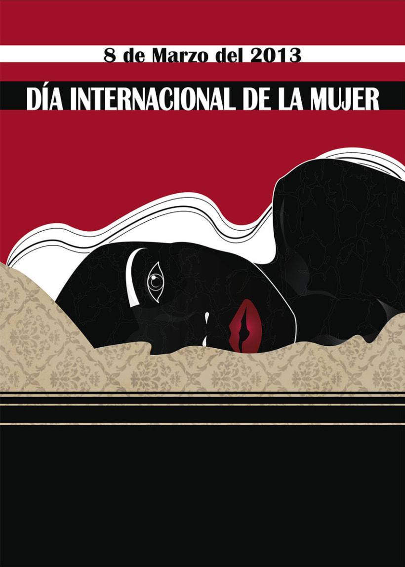 Cartel Día Internacional de la Mujer 1