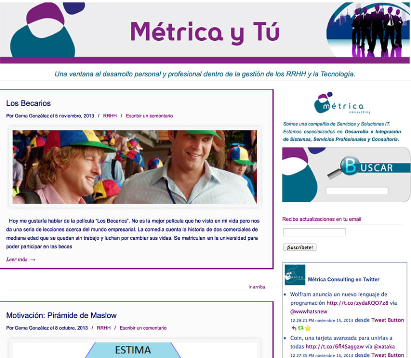 Social Media, Metrica Consulting 2