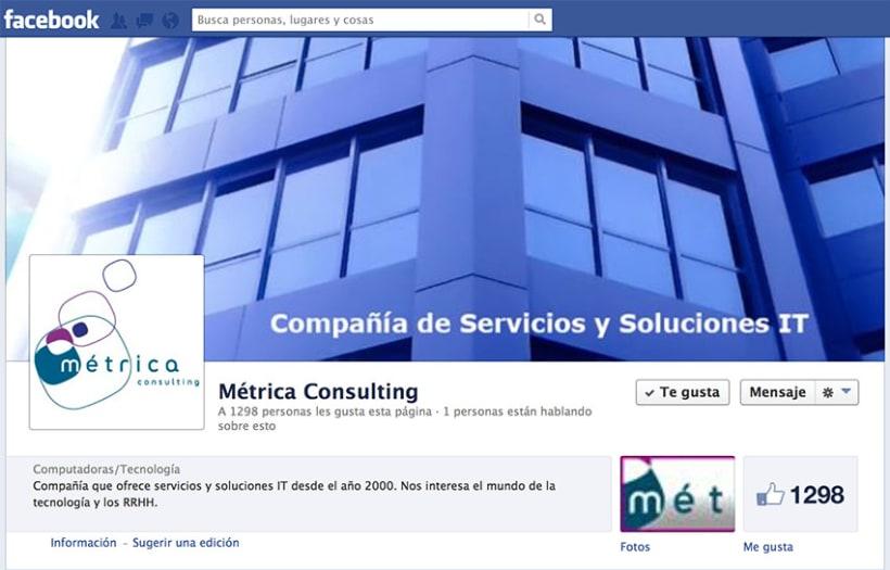 Social Media, Metrica Consulting 6