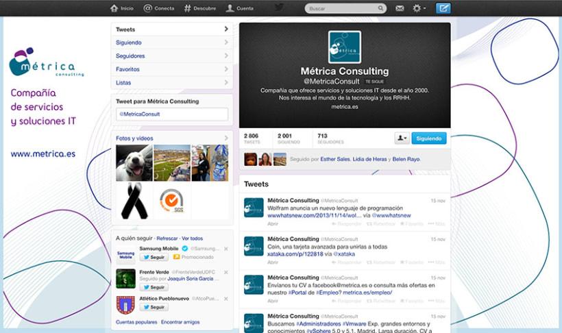 Social Media, Metrica Consulting 4