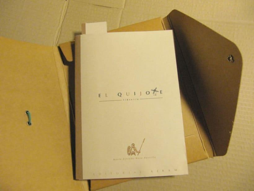 Logo Librería El Quijote 3
