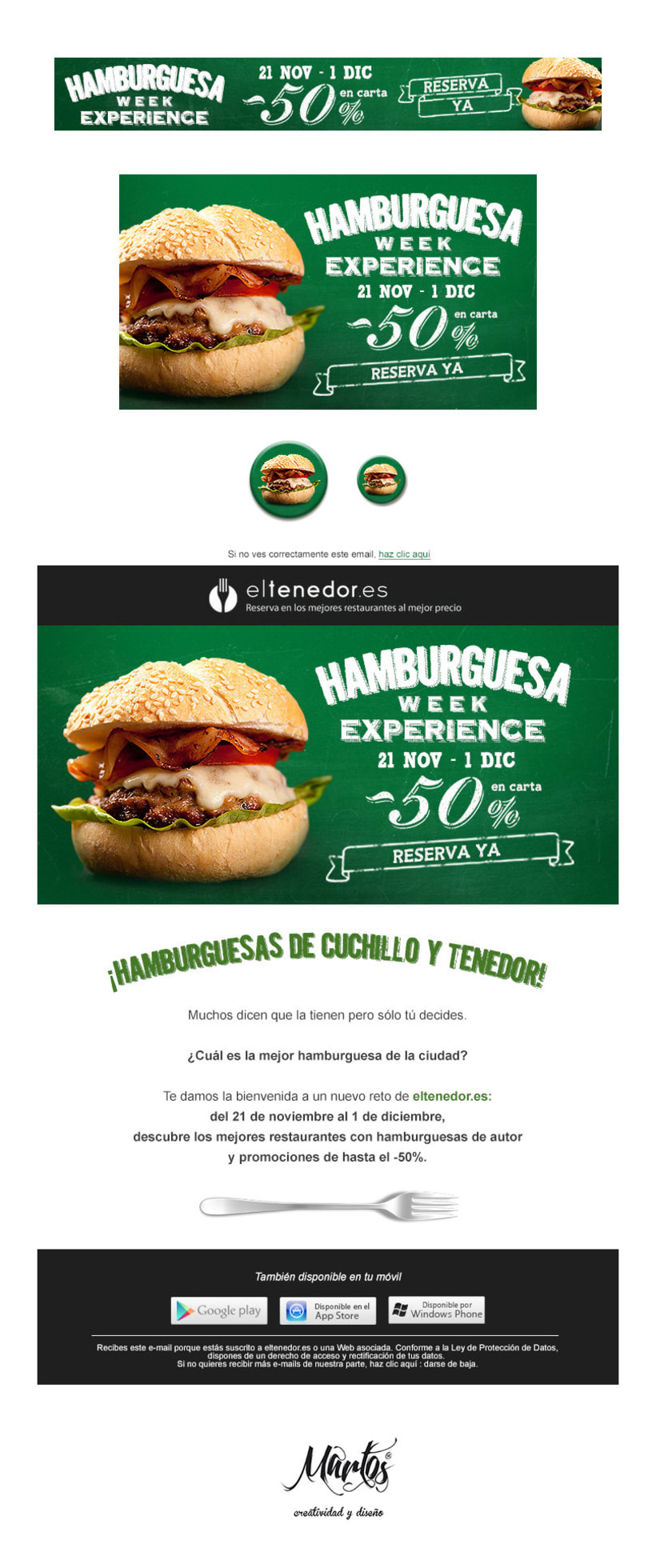 Hamburguesa Week Experience 1