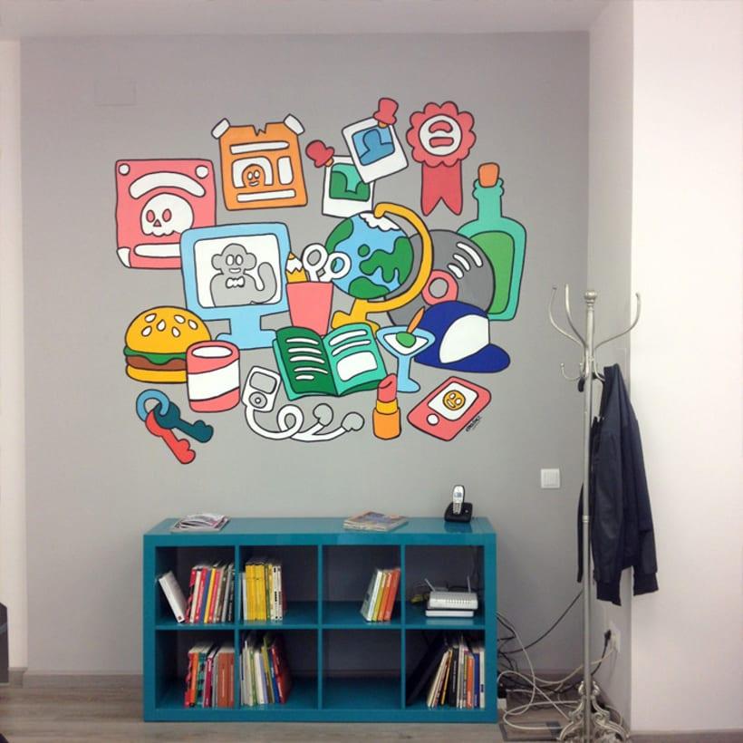 Mural para Telling 2