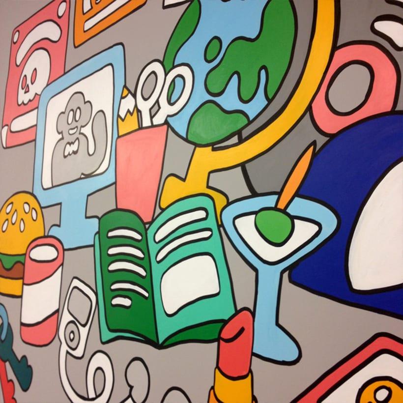 Mural para Telling 3