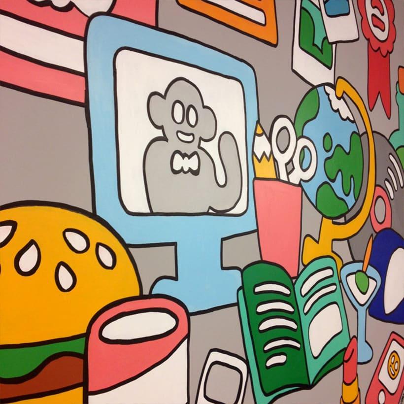 Mural para Telling 5