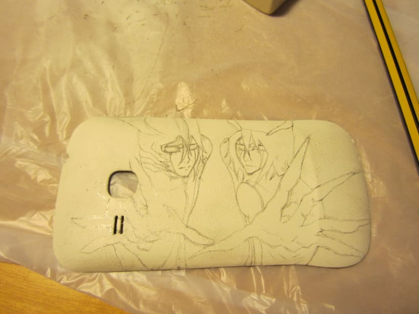 Ulquiorra's mobile case 2