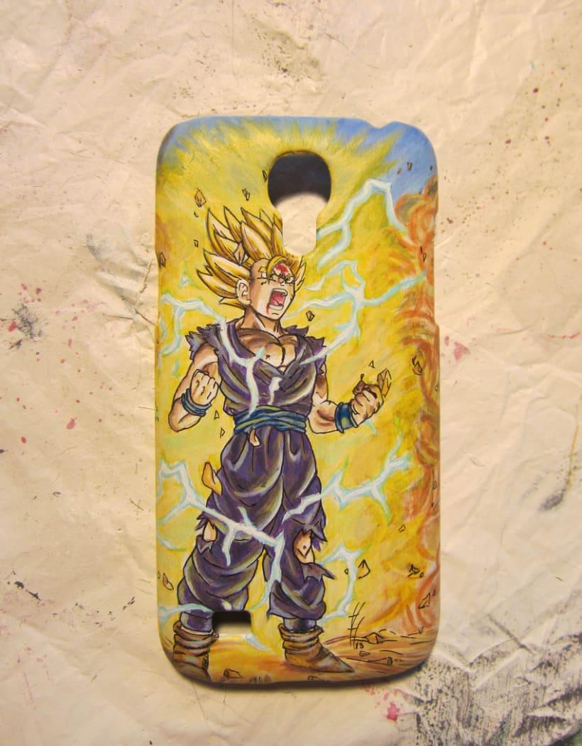 Son Gohan's mobile case 6