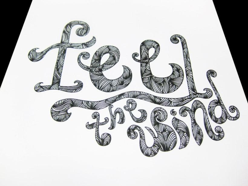 Tipografías handmade 5