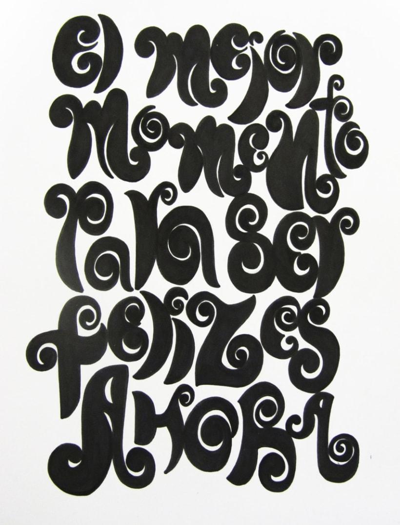 Tipografías handmade 2