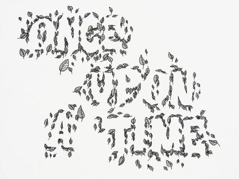 Tipografías handmade 1