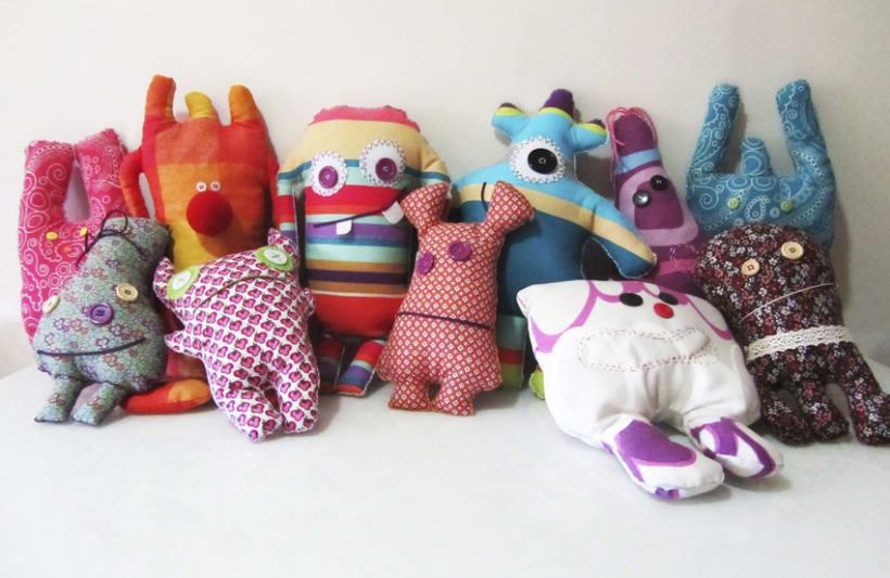 Monigotes, muñecos handmade 5