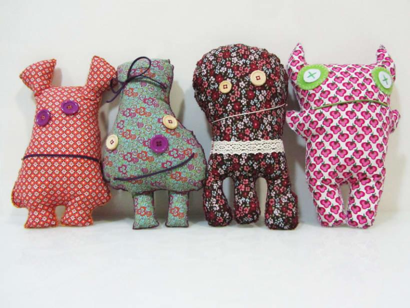 Monigotes, muñecos handmade 4