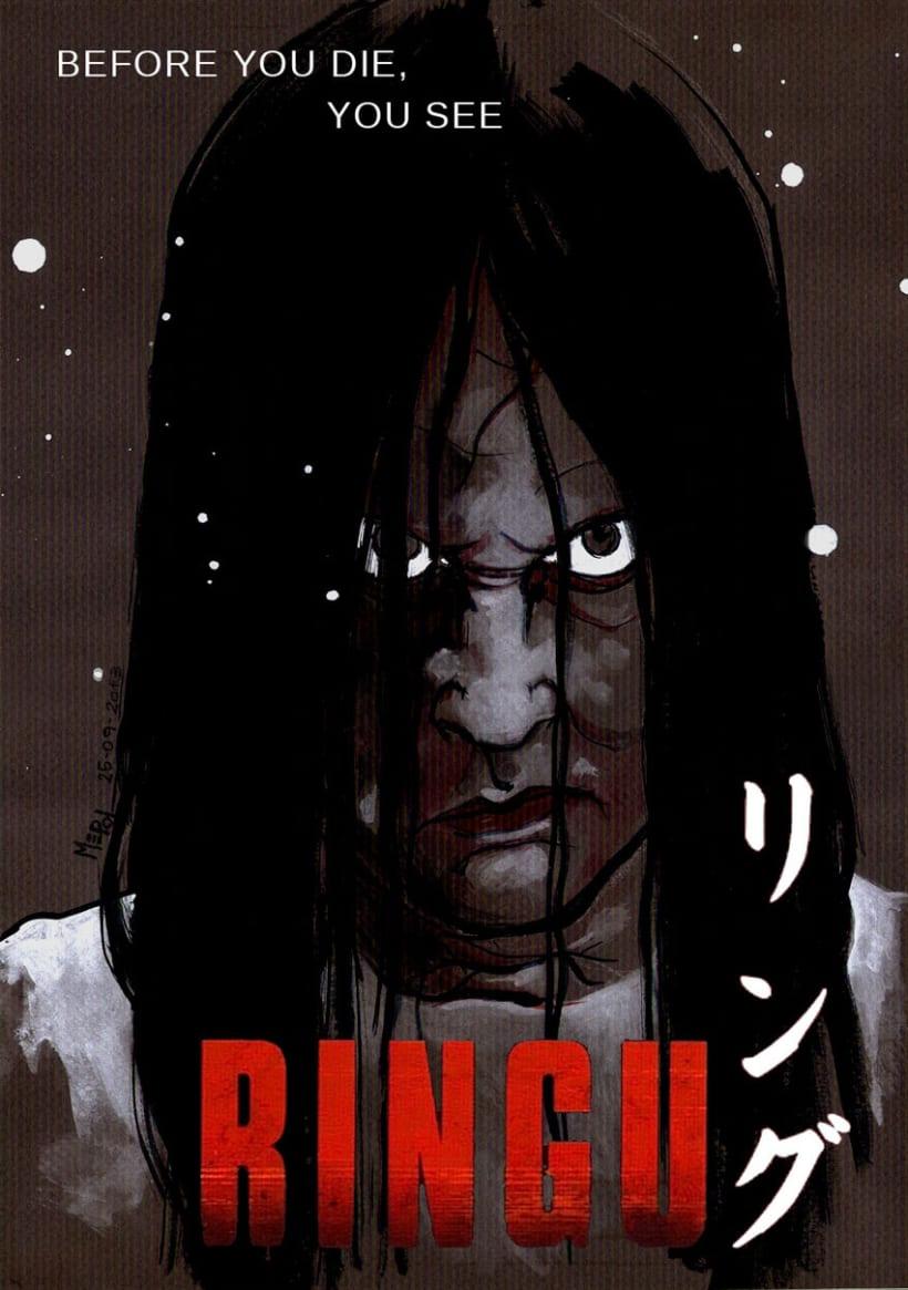 Ilustraciones: Películas de Terror II 2
