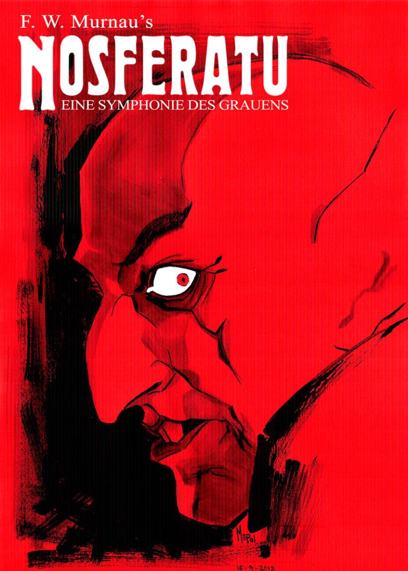 Ilustraciones: Películas de Terror II 10