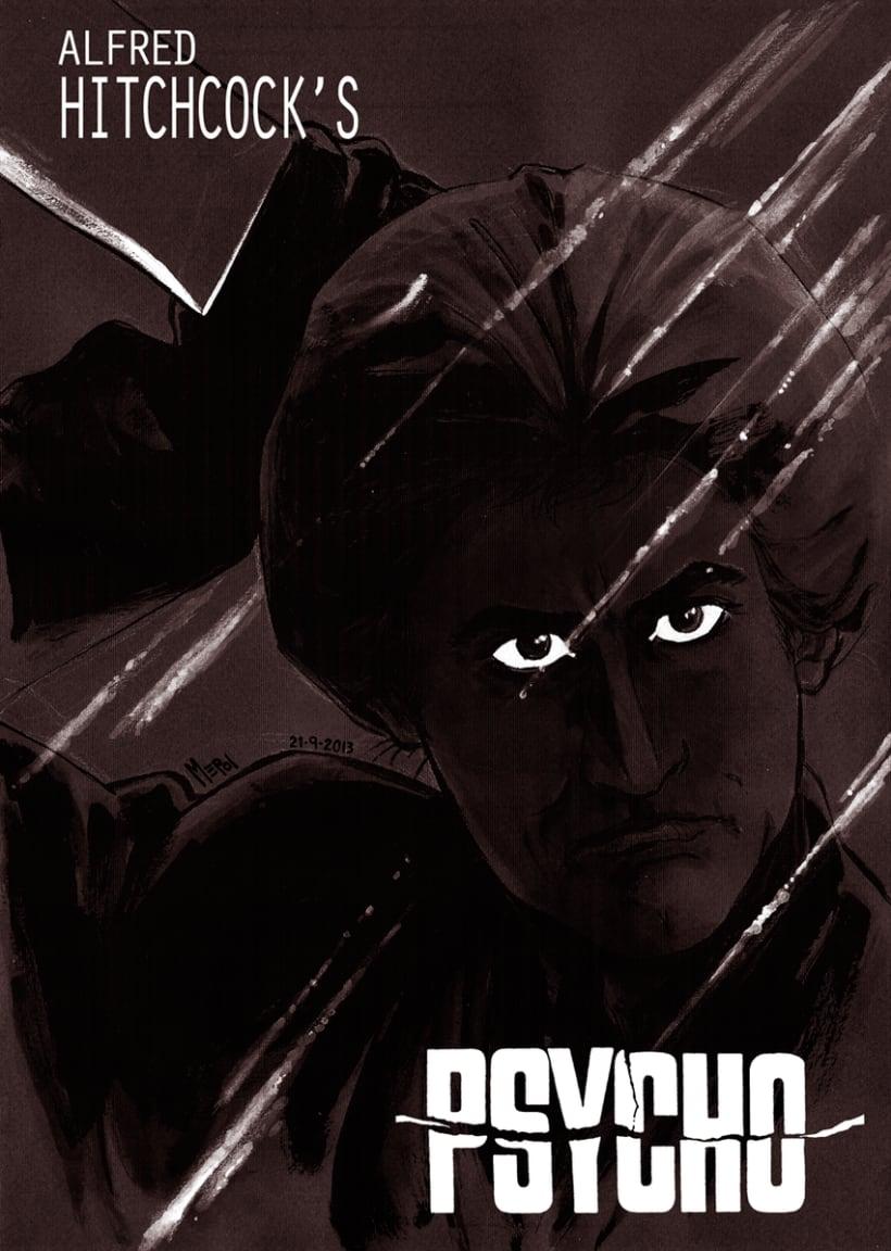 Ilustraciones: Películas de Terror II 6