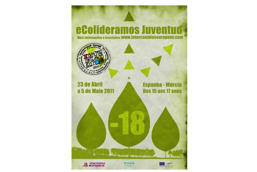 Carteles para intercambios juveniles / Posters for youth exchanges / Cartazes para intercâmbios europeus 11
