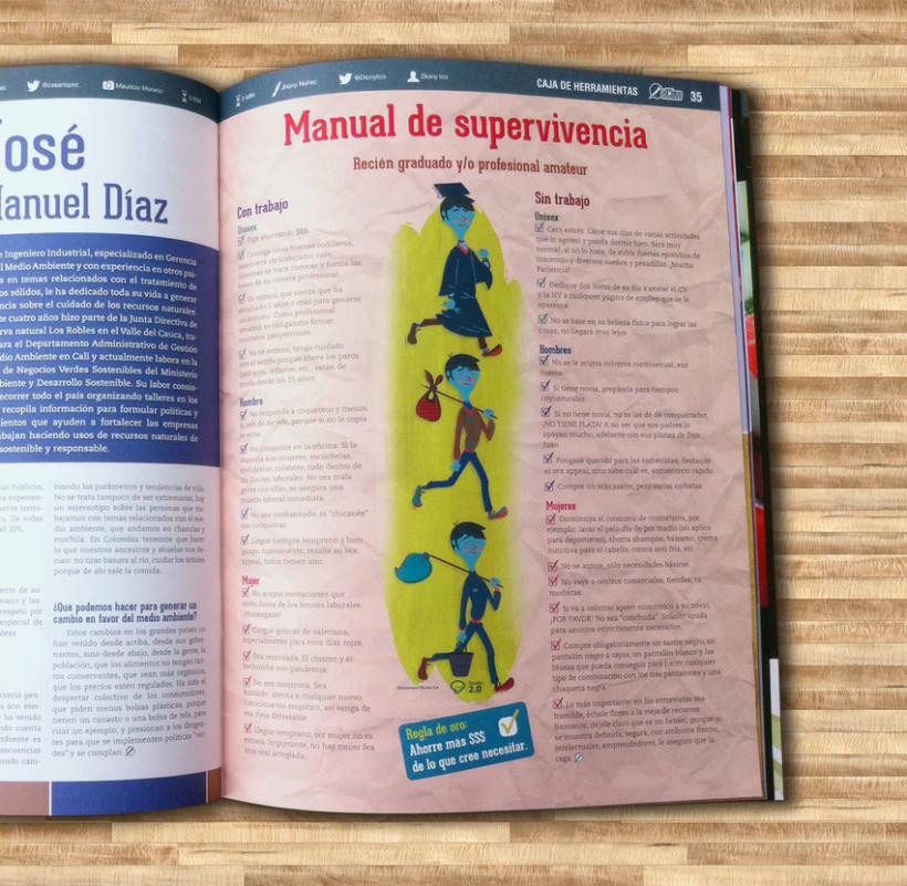 ILUSTRACIONES - Revista El Clavo #79 14