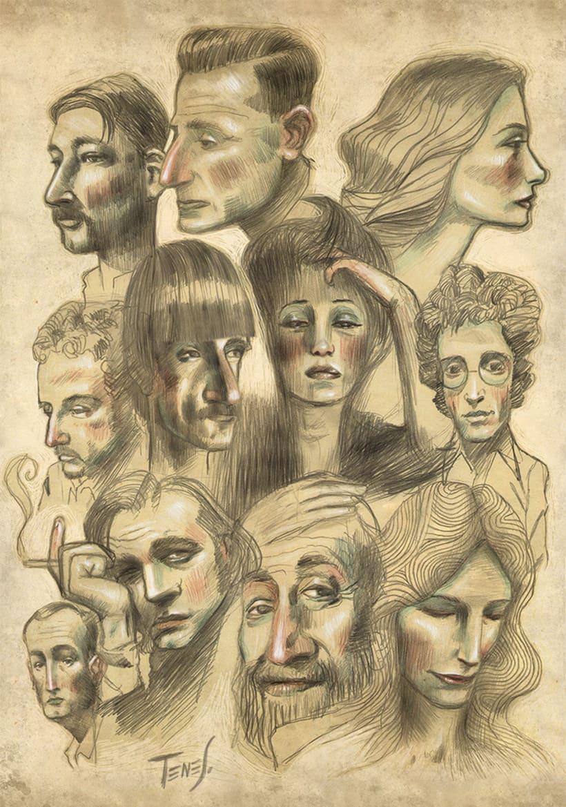 Faces... 1