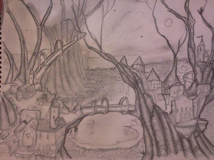 Bocetos y trabajos 9