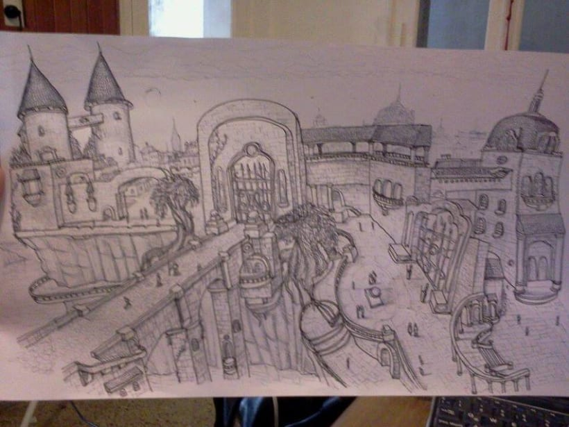 Bocetos y trabajos 8