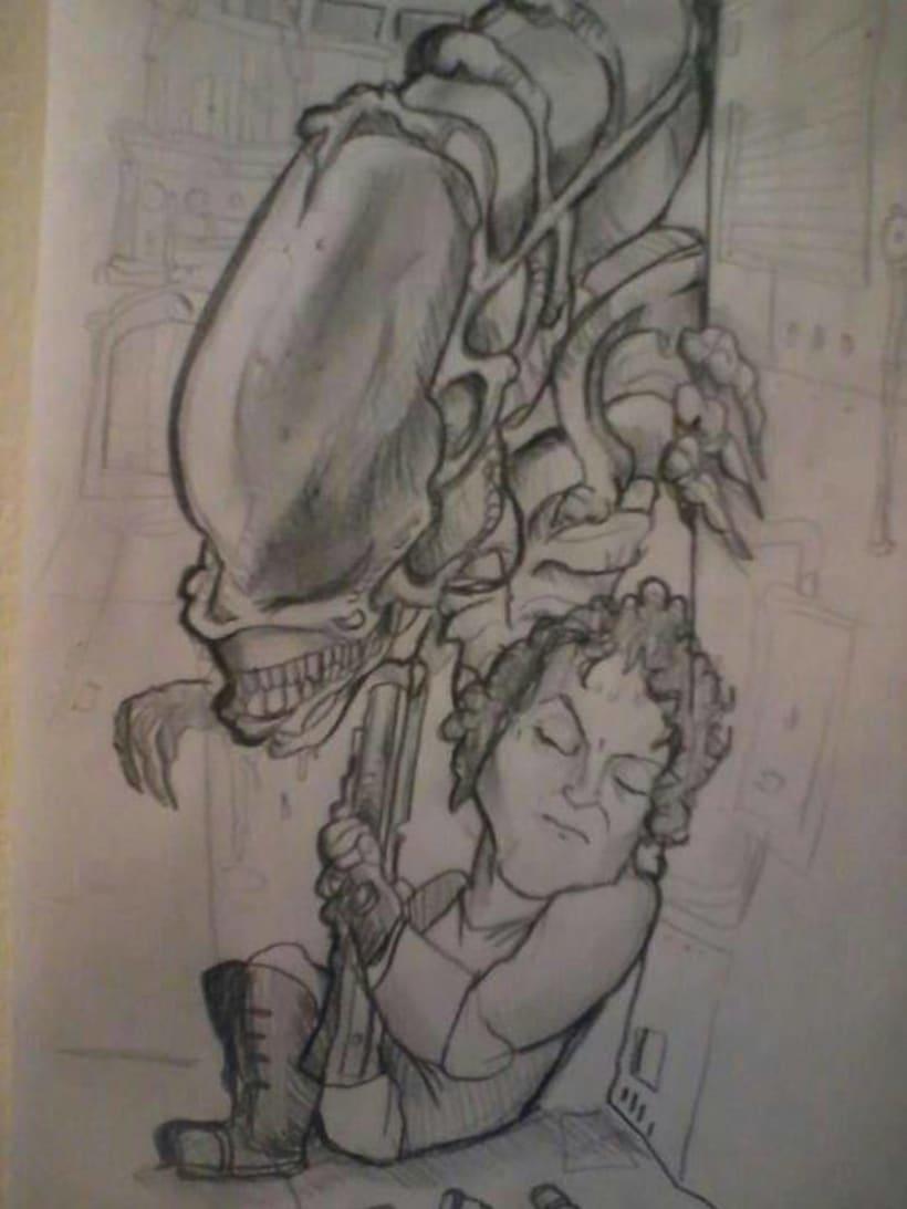 Bocetos y trabajos 7