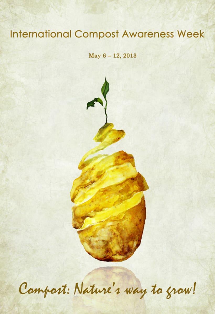 International Compost Awareness Week. Poster 2