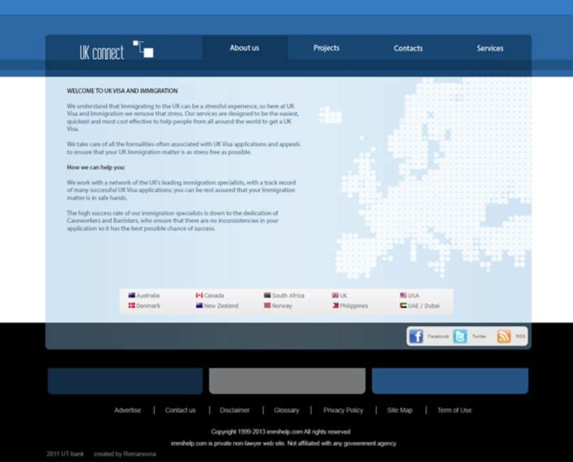 Immigration to UK Services site 2