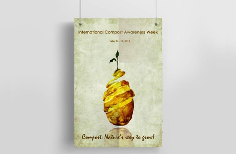 International Compost Awareness Week. Poster 1