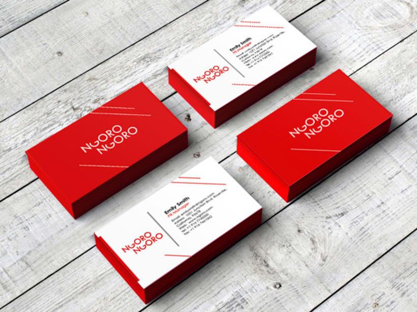 Ngoro-Ngoro. Trekkin clothing brand identity 3
