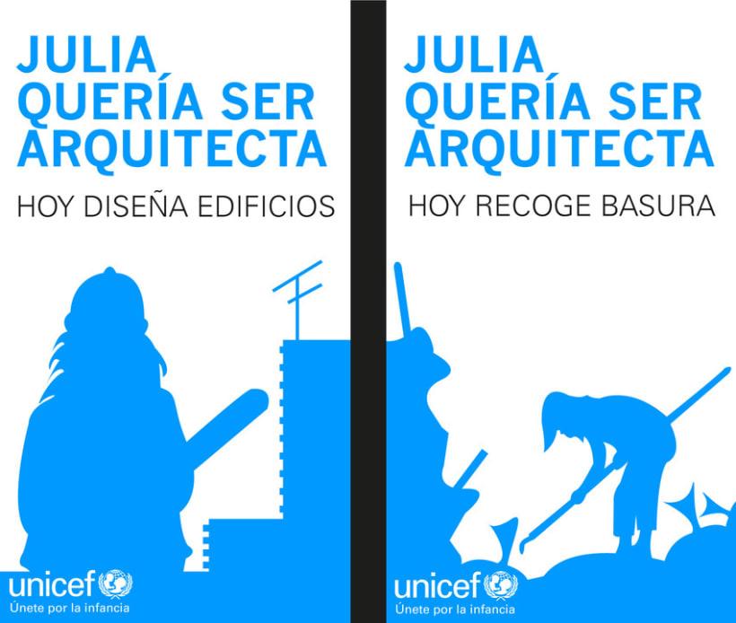 Concurso JCDcaux Unicef Día del Niño 2