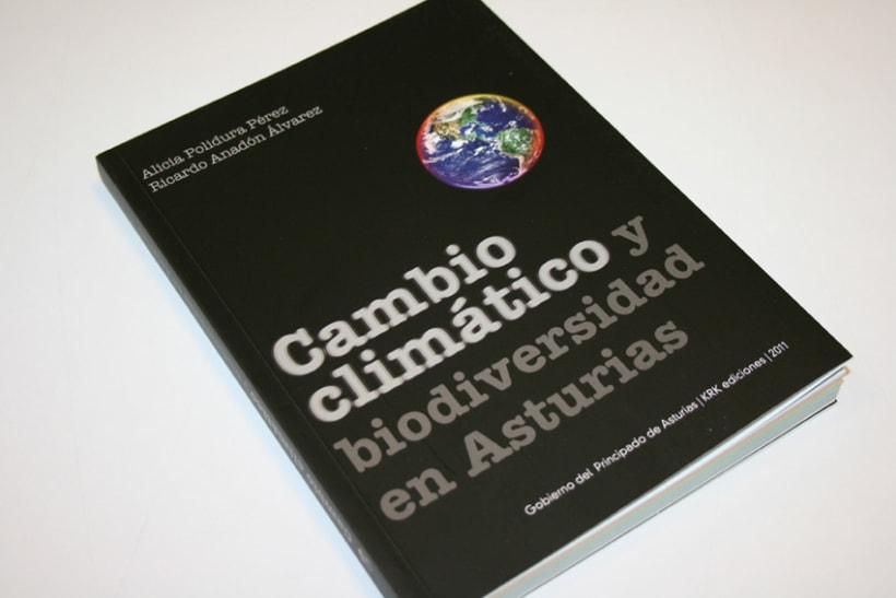 Libro cambio climático y biodiversidad en Asturias 2