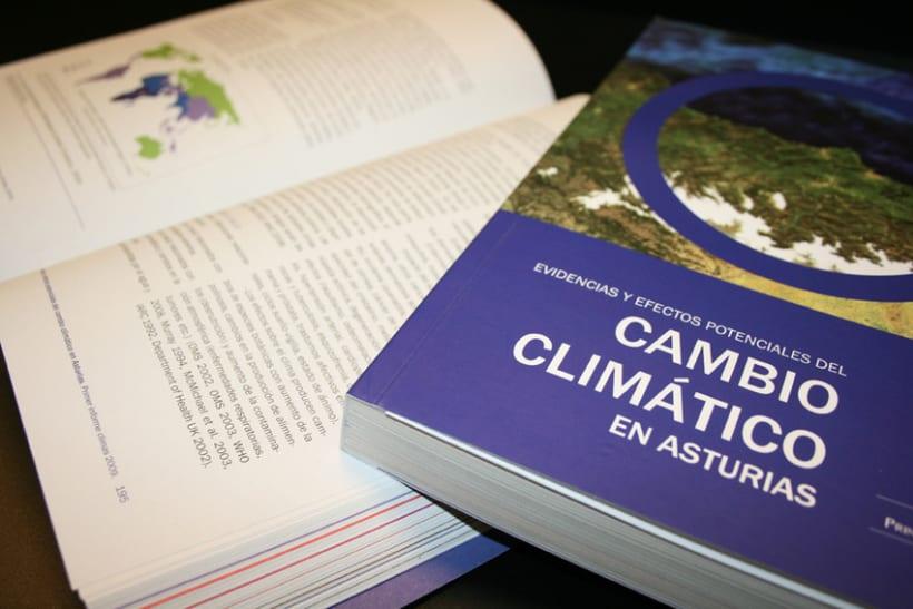 """Libro """"Evidencias y efectos potenciales del cambio climático en Asturias"""" 2"""