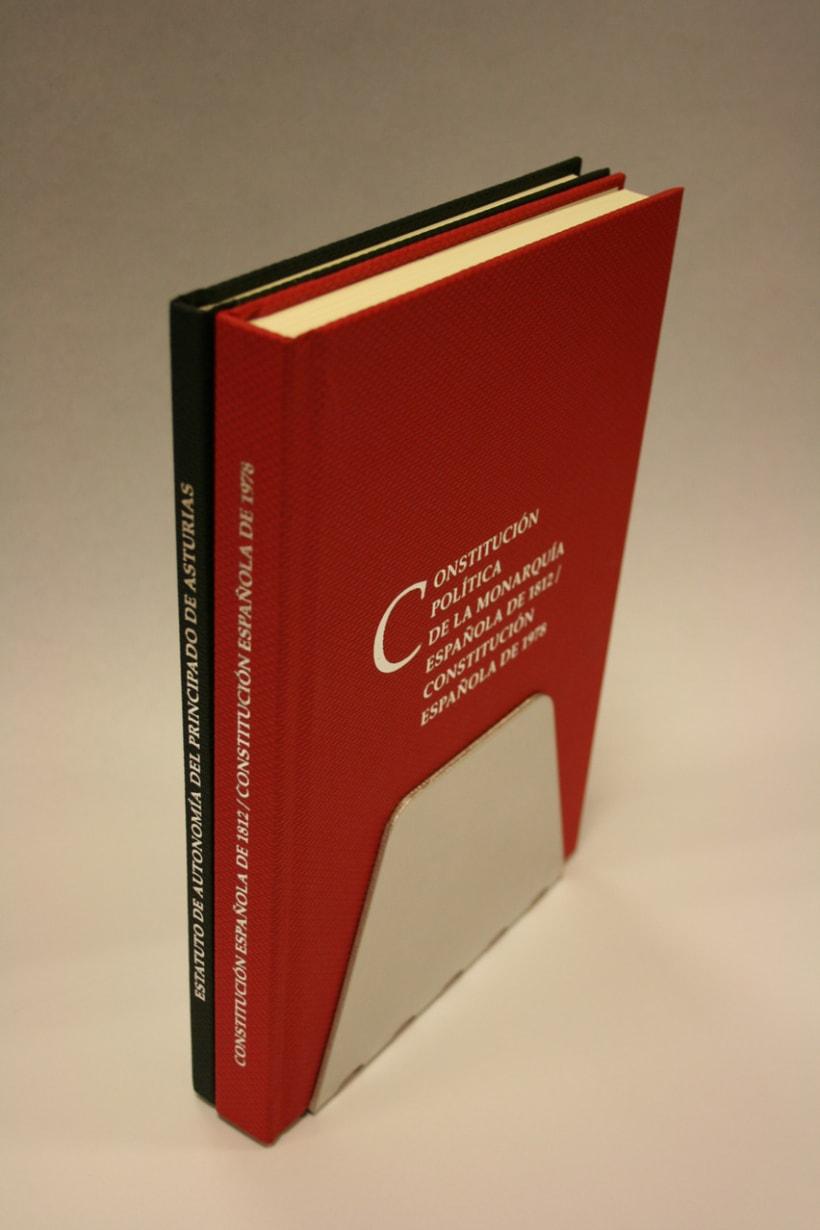 Libros Constitución y Estatuto 2