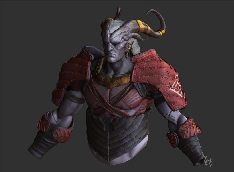 Arishok of Dragon Age 2 Zbrush 0